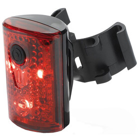 XLC Comp CL-R14 Rearlight Pan, black/red